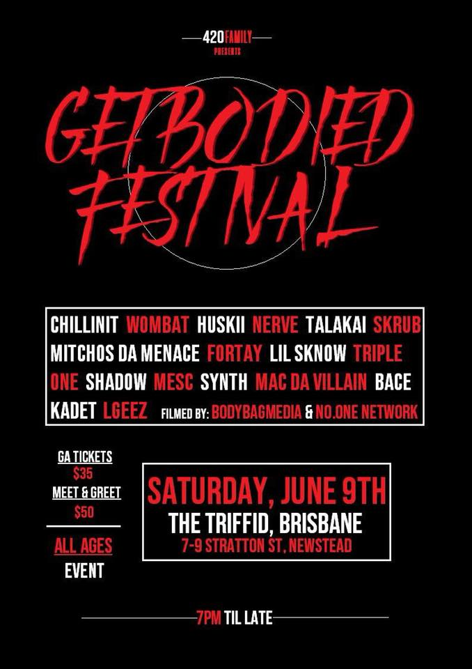 GetBodied Festival Brisbane