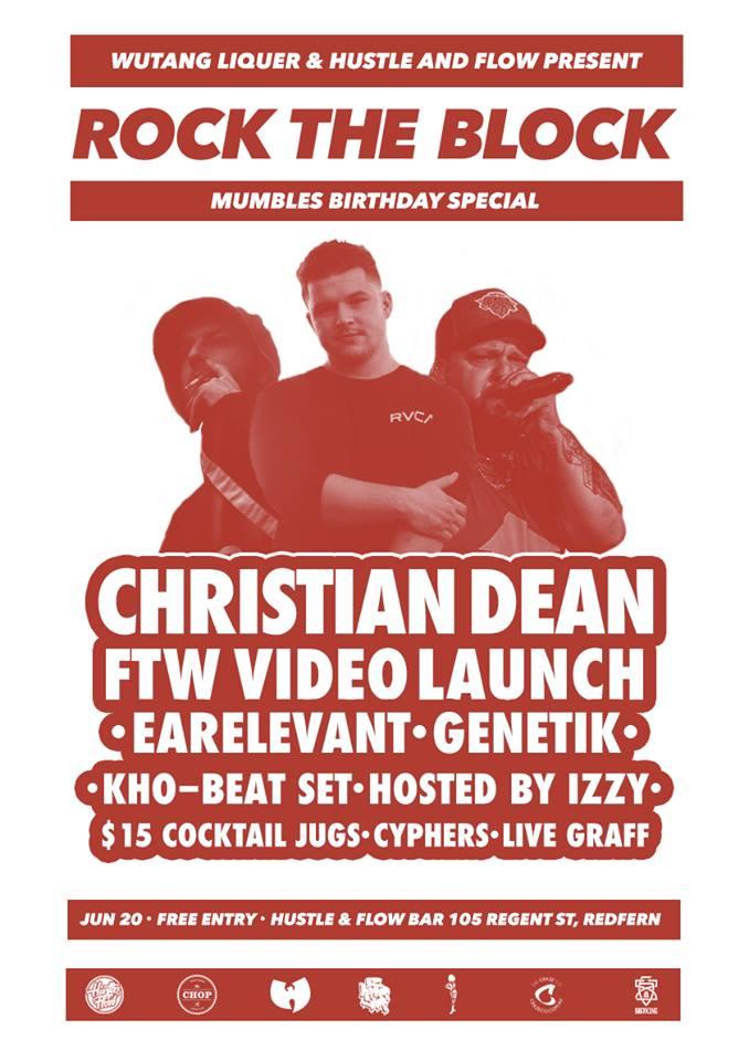 Australian Hip Hop, Rock The Block: Mumbles Birthday Special