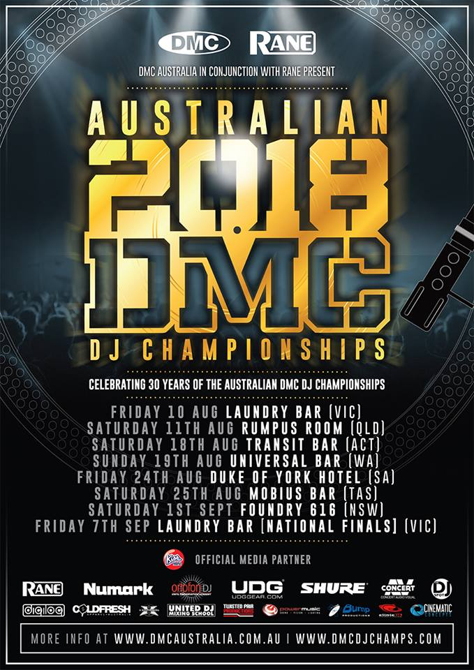 Australian DMC Championships 2018 Dates and entry details