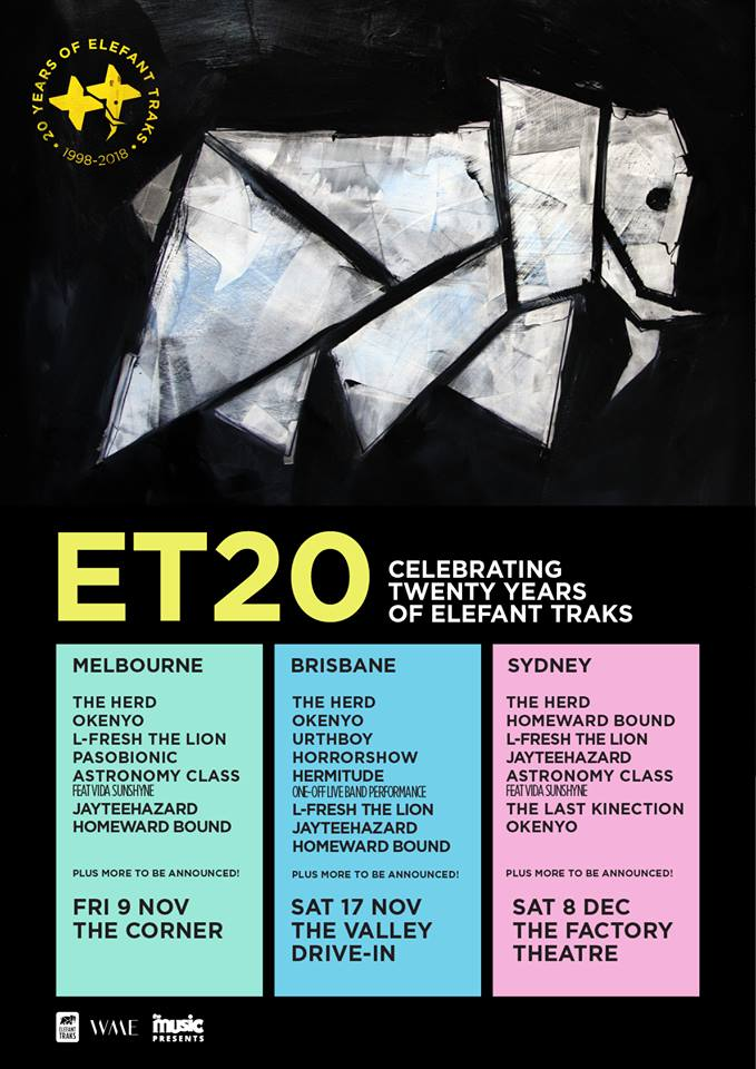 Elefant Traks 20yr Celebration