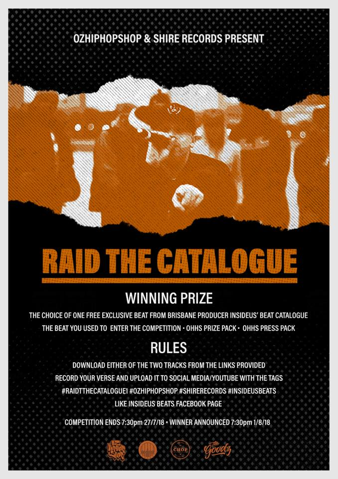 Raid The Catalogue Rap Competition #1