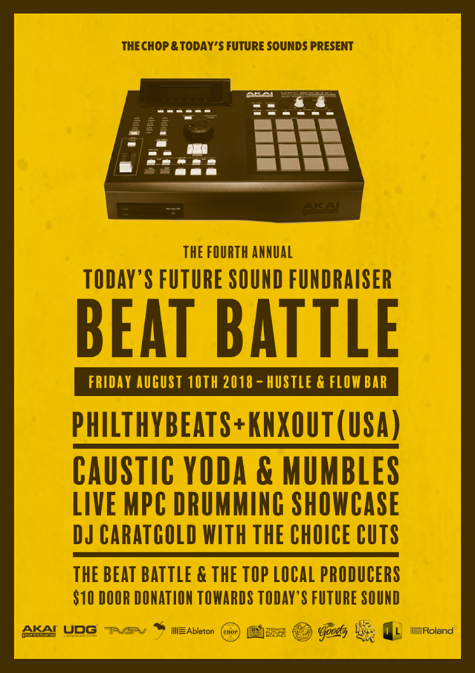 The Chop X Today's Future Sound Beat Battle Fundraiser 2018.