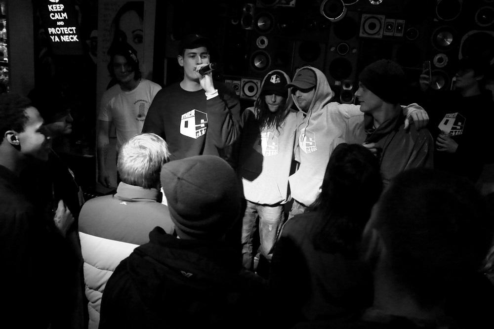 Hammy on the mic