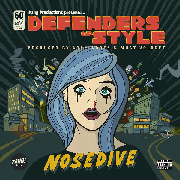 Defenders of Style Nosedive lp Album Cover