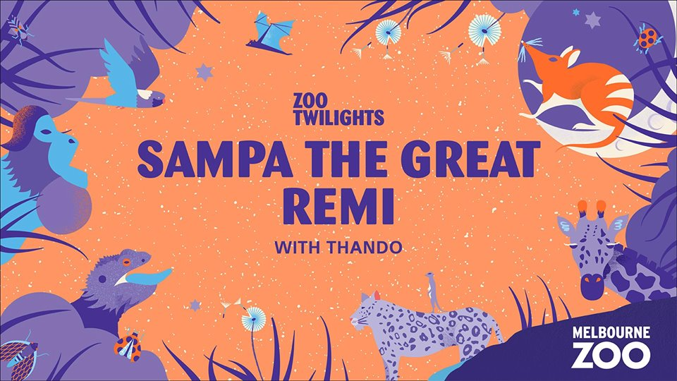 Zoo Twilights - Sampa The Great + Remi Supported By Thando Event Flyer