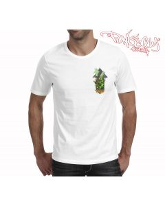 Pondscum Clothing - Beug Mini Print T Shirt