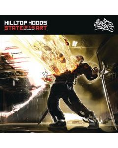 Hilltop Hoods - State Of The Art - 10 Year Anniversary Edition - Limited Red Vinyl