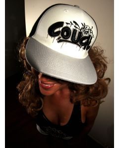 Velvet Couch Snap Back Hat - Mystik White