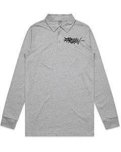 Pondscum Clothing - Polo Handstyle Mini Print T Shirt