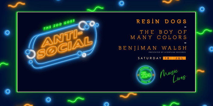 Gig News: Anti-Social Ft. Resin Dogs