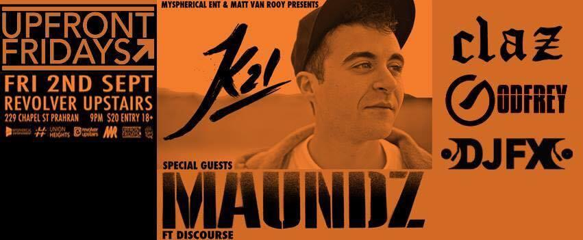 Adelaide Rapper K21 Announces Melbourne Show With Maundz