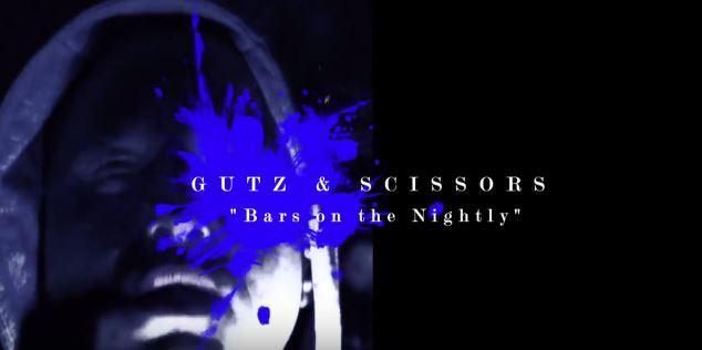 New Australian Hip Hop Music Video! Sammy Scissors Ft Gutz - Bars On The Nightly