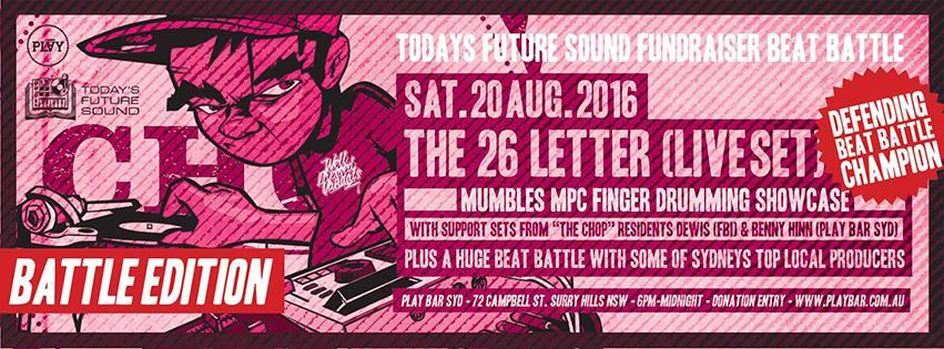 The Chop x Today's Future Sound Fundraiser Beat Battle