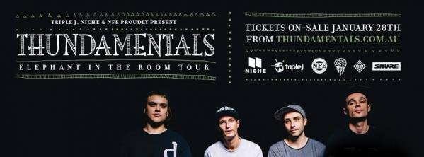 Thundamentals Announce Elephant In The Room Tour