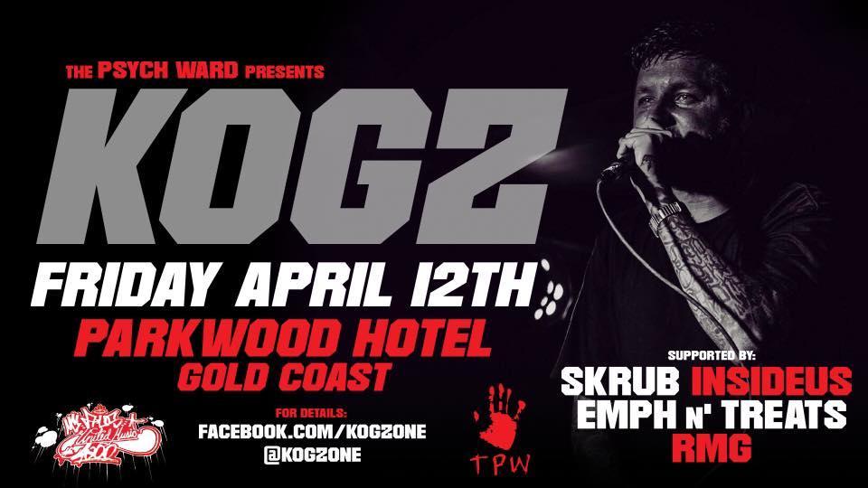 Perth Rapper Kogz Announces Brisbane And Gold Coast Shows!