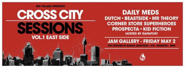 Gig News! Big Village Presents - Cross City Sessions Vol 1
