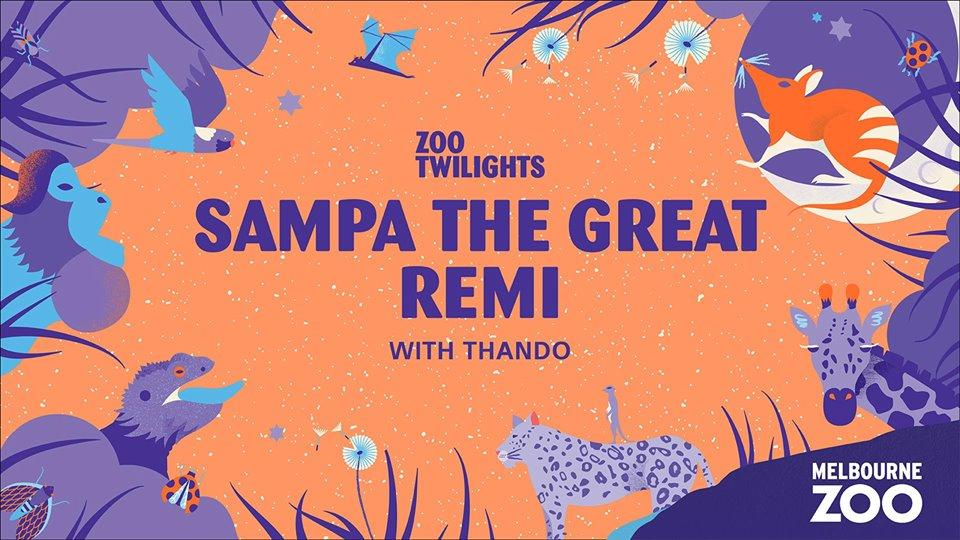 Gig News! Zoo Twilights - Sampa The Great + Remi Supported By Thando