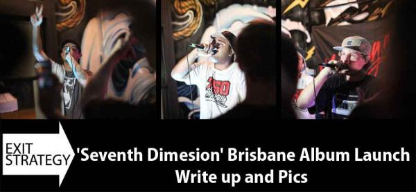 Gig Review! Exit Strategy - Seventh Dimension Brisbane Album Launch