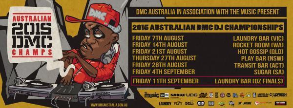 2015 AUSTRALIAN DMC DJ CHAMPIONSHIPS