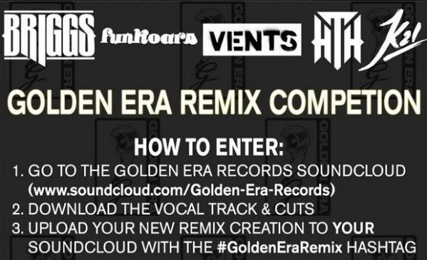 Golden Era Records Remix Competition Announcement.