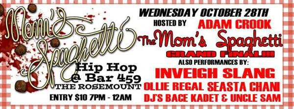 Australian Hip Hop Gig News - The Mom's Spaghetti Competition Final