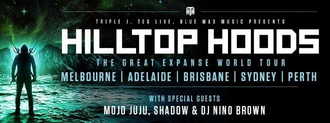 "Hilltop Hoods Announce ""The Great Expanse"" World Tour 2019"