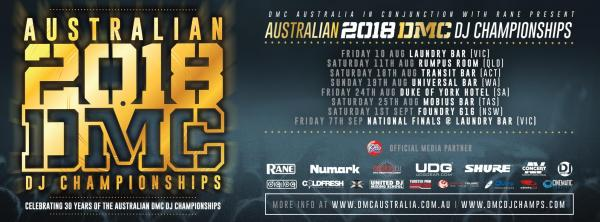 Australian 2018 Dmc DJ Championships