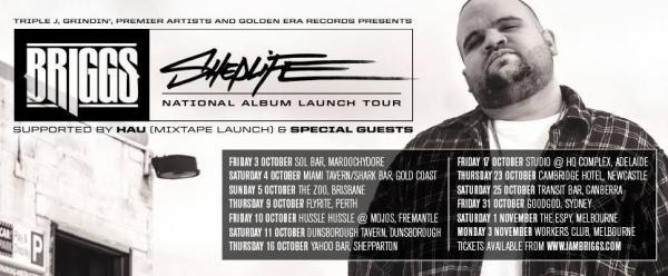 Briggs Announces Sheplife Tour!
