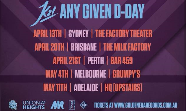 K21 Any Given D-Day Double Pass Giveaway!