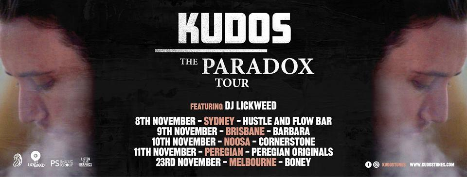 Kudos The Paradox Tour - Brisbane Show