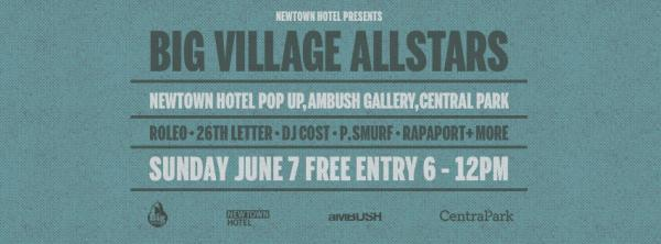 Gig News! Big Village All Stars