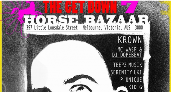 Gig News: The Get Down 7 Saturday 17th February
