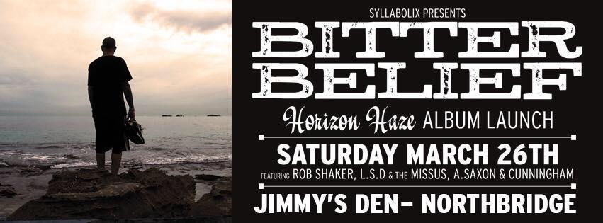 Bitter Belief Announces 'Horizon Haze' Album Launch/Party