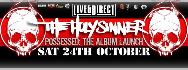 Gig News! Live And Direct - The Holy Sinner