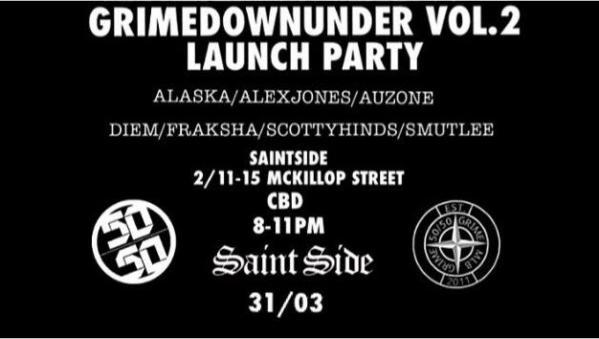 Gig Review: 50/50 Melbourne Grime Down Under Vol.2 Launch Party