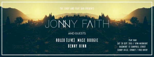 Gig News! Jonny Faith Sydney Show