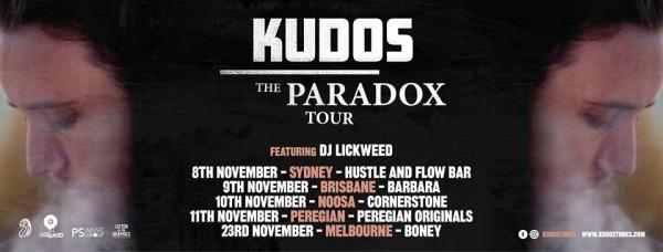 Kudos The Paradox Tour - Brisbane Show