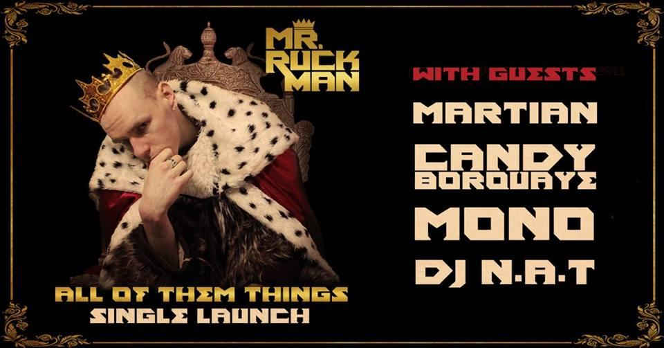 """Mr Ruckman """"All Of Them Things"""" Melbourne Single Launch"""