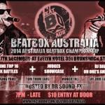 Australian Beatbox Championships 2014
