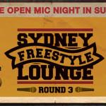 Gig News! Sydney Freestyle Lounge - Open Mic Night