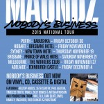 Maundz Nobody's Business Exclusive Ticket Competition