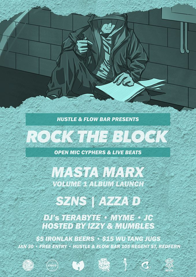 Rock The Block - MASTA MARX Vol. 1 Album Launch