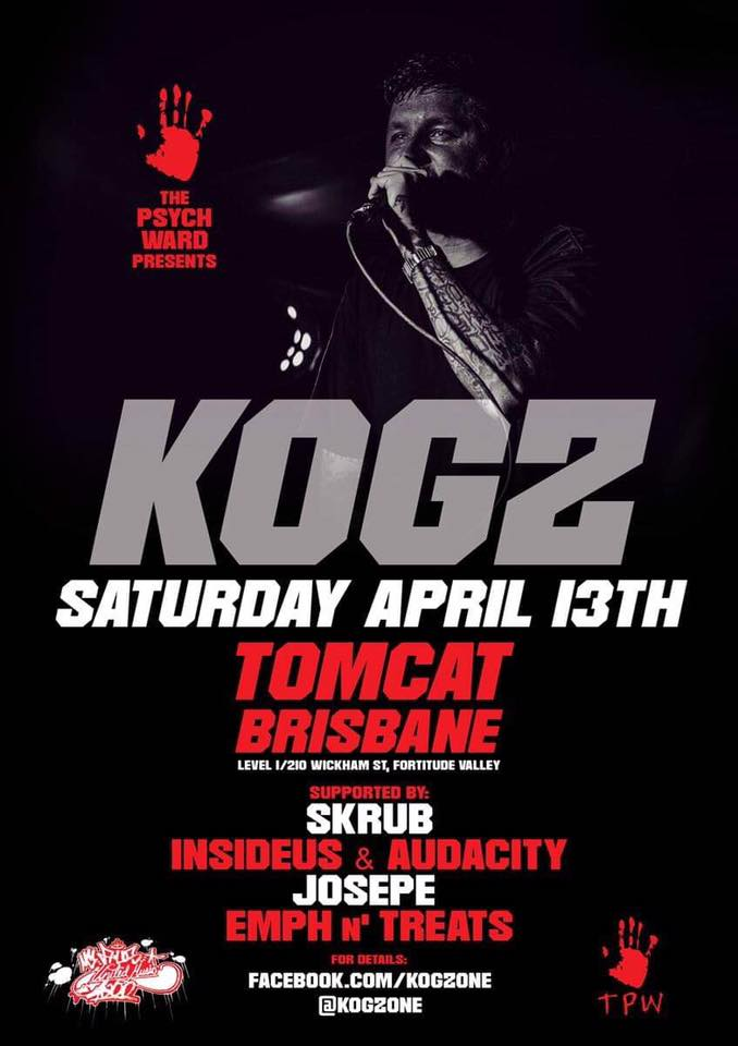 Perth Rapper Kogz Announces Brisbane And Gold Coast Shows