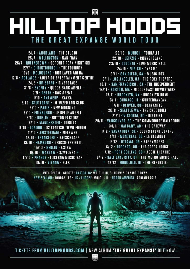 Hilltop Hoods The Great Expanse World Tour 2019