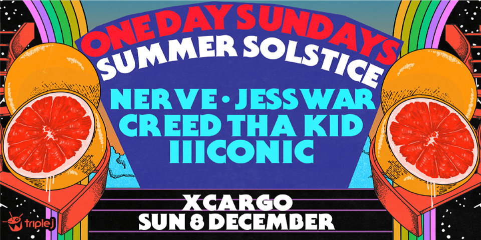 One Day Sundays - Summer Solstice Event Flyer