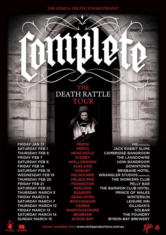 Complete Death Rattle Tour