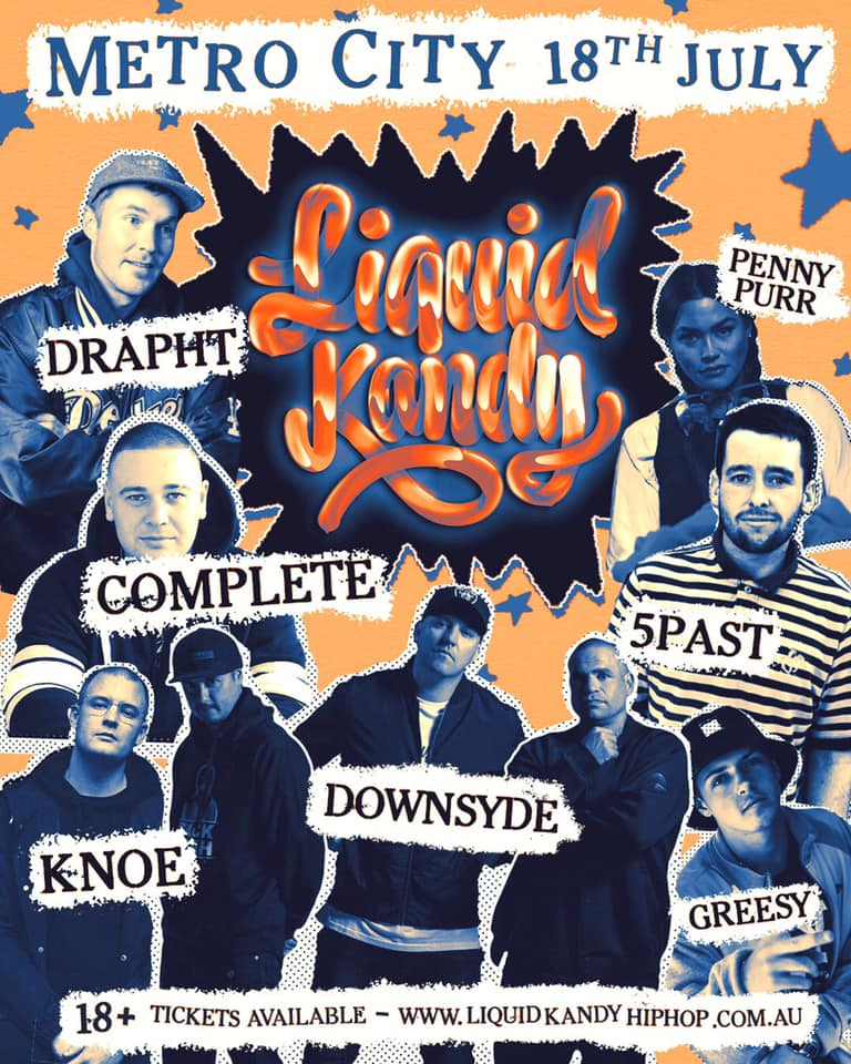 Liquid Kandy - Drapht, Complete, Downsyde and more Live